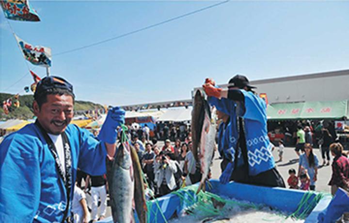 登別漁船祭り