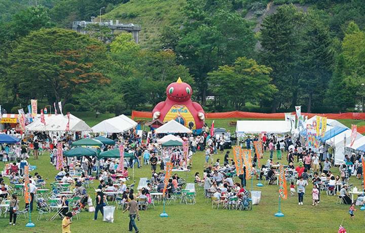 のぼりべつ夏祭り